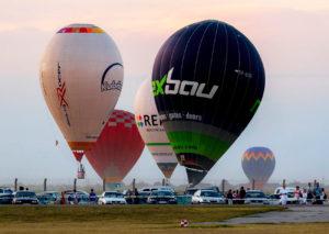 Mistrovství ČR v balónovém létání @ Uherské Hradiště