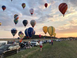 Mistrovství ČR v balónovém létání 2019 @ Letiště Jindřichův Hradec