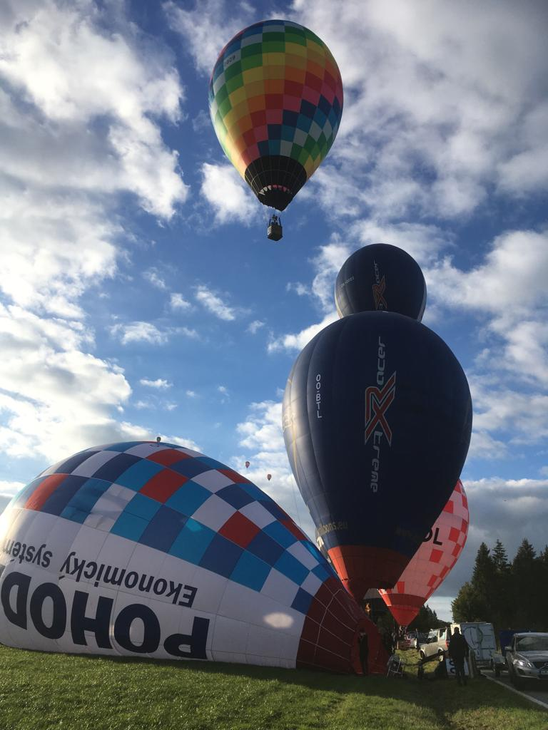 Belgian balloon trophy