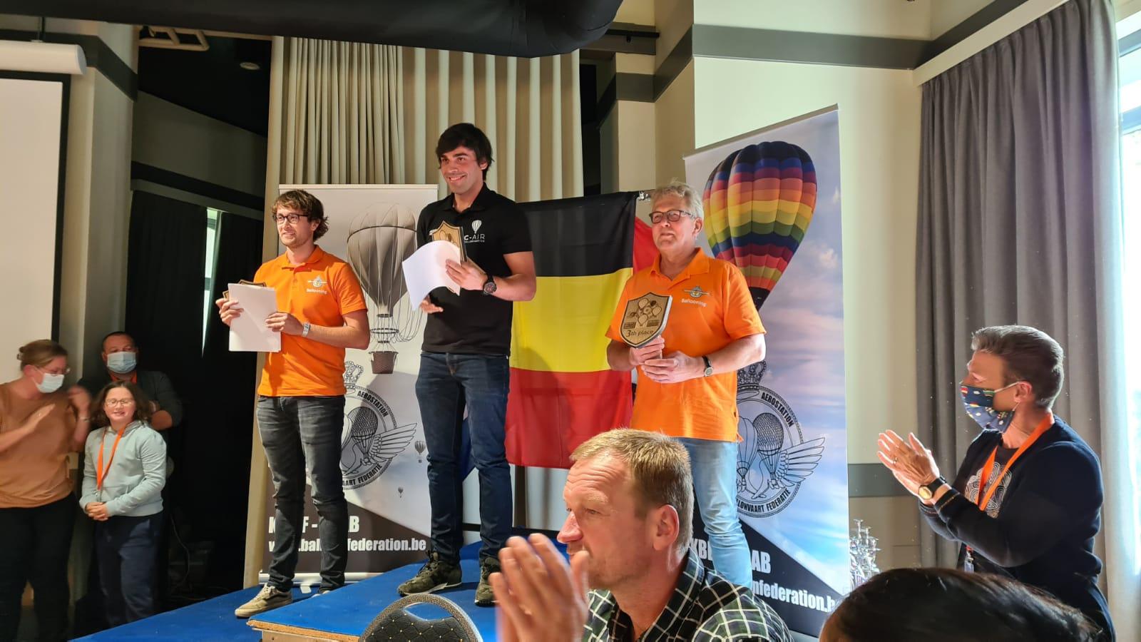 Belgian balloon trophy – vítězové